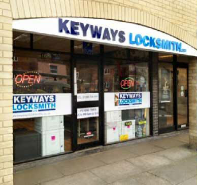 Keyways Locksmith Ltd, Bury St. Edmunds, Suffolk